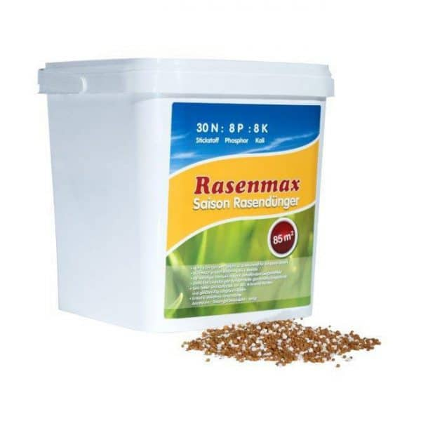RASENMAX Saison Rasendünger 3 kg 85 m² 6M