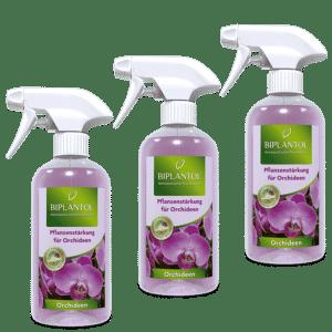 Biplantol 3er Set Orchideenspray
